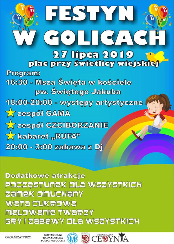 Festyn w Golicach
