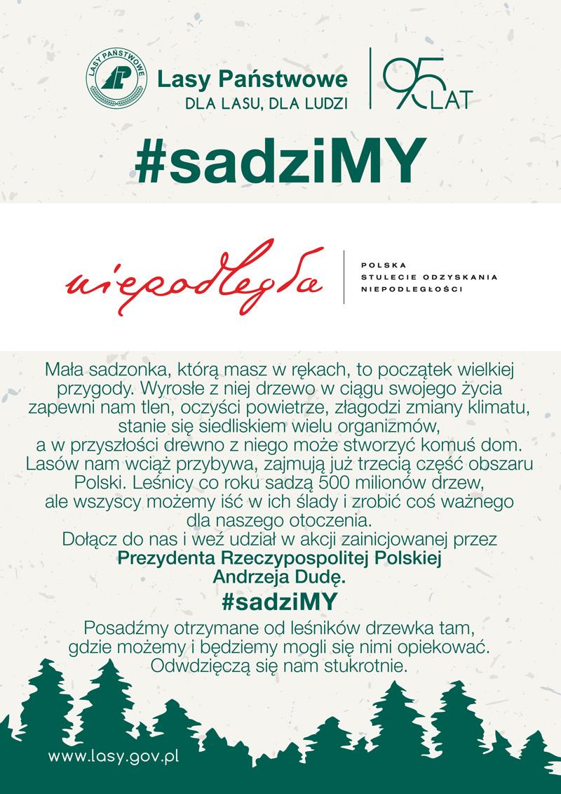 Ogólnopolska akcja #sadziMY
