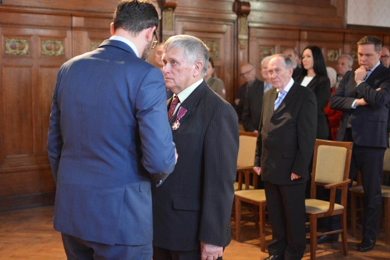 Srebrny Krzyż Zasługi dla Zenona Pikuły