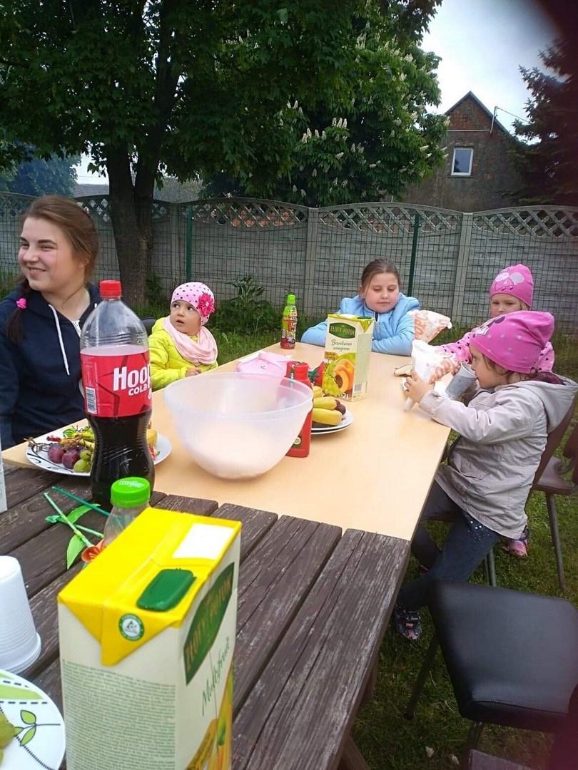 Świętowanie w Łukowicach
