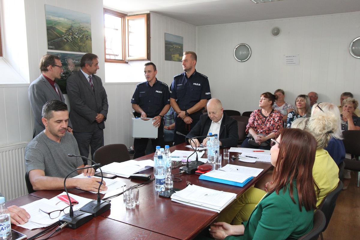 IX Sesja Rady Miejskiej w Cedyni
