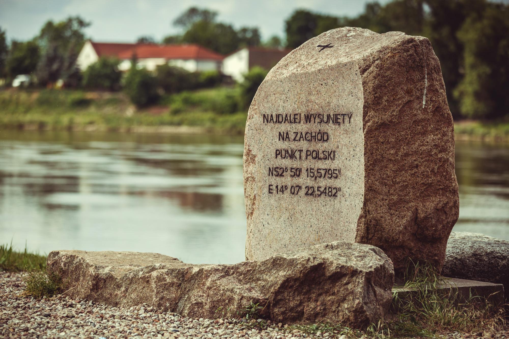 Najdalej wysunięty na zachód punkt Polski