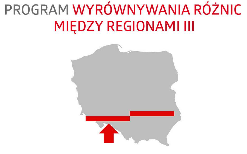 Programie wyrównywania różnic między regionami