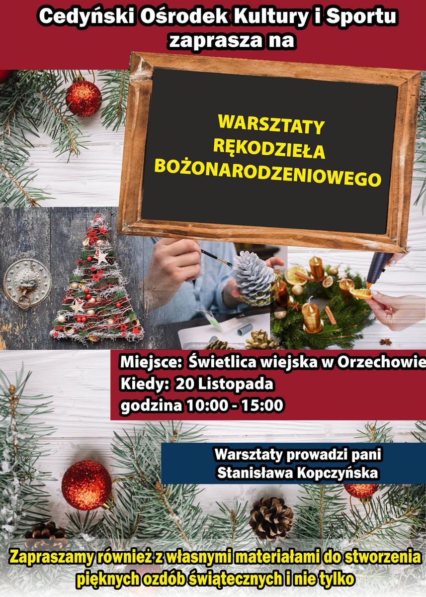 Plakat-Warsztaty-świątecznego-rękodzieła1