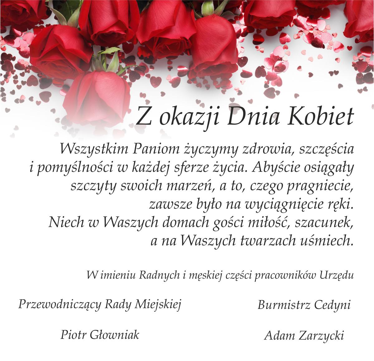 dzień kobiet życzenia
