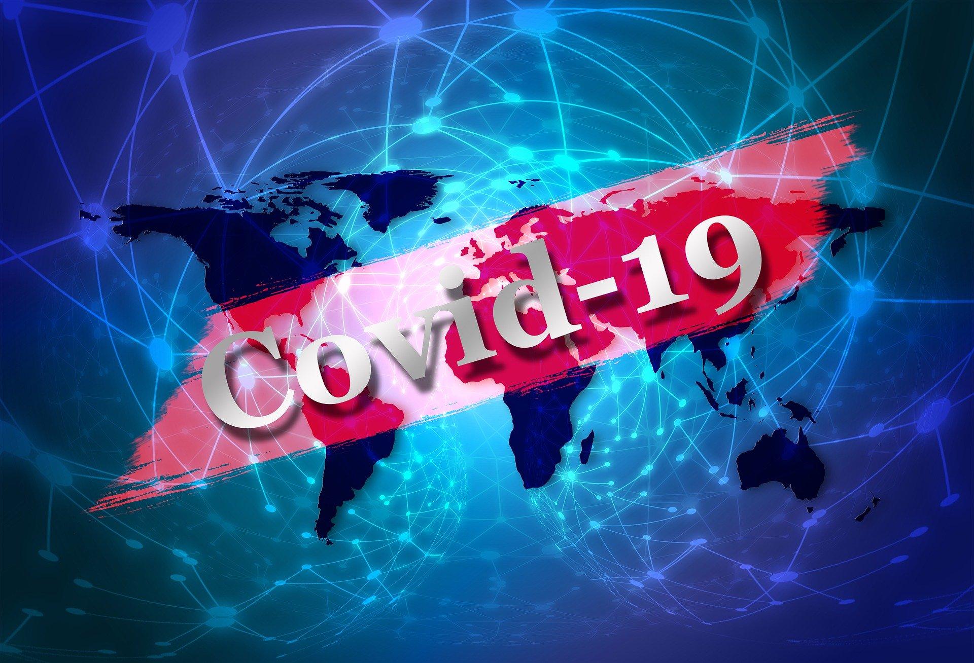 Logo koronawirus COVID-19