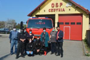 Nowy samochód ratowniczy dla cedyńskich strażaków