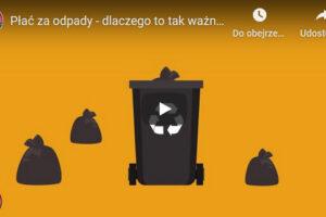 Grafika do filmu wyjaśniający najważniejsze zagadnienia dotyczące > gospodarki odpadami