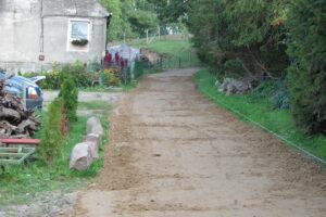 remont odcinka drogi gruntowo – gminnej wewnętrznej w miejscowości Lubiechów Dolny