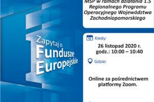 Plakat Webinarium 26 11 2020