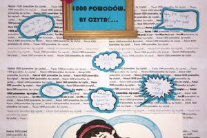 plakat konkursowy stworzony przez naszych uczniów