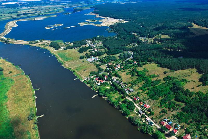 Zdjęcie satelitarne Bielinek