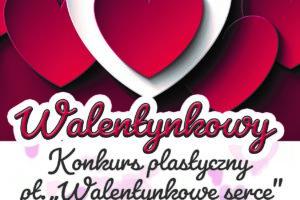 Walentynkowy konkurs plastyczny