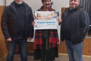 Laureaci programu Społecznik, 3 osoby z przyznanym dofinansowaniem