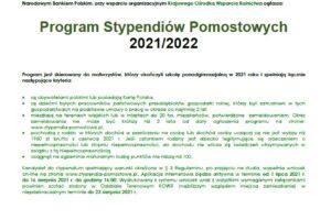 Plakat-Stypendia-Pomostowe-2021-r