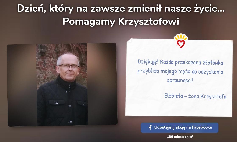 Pomagamy Krzysztofowi