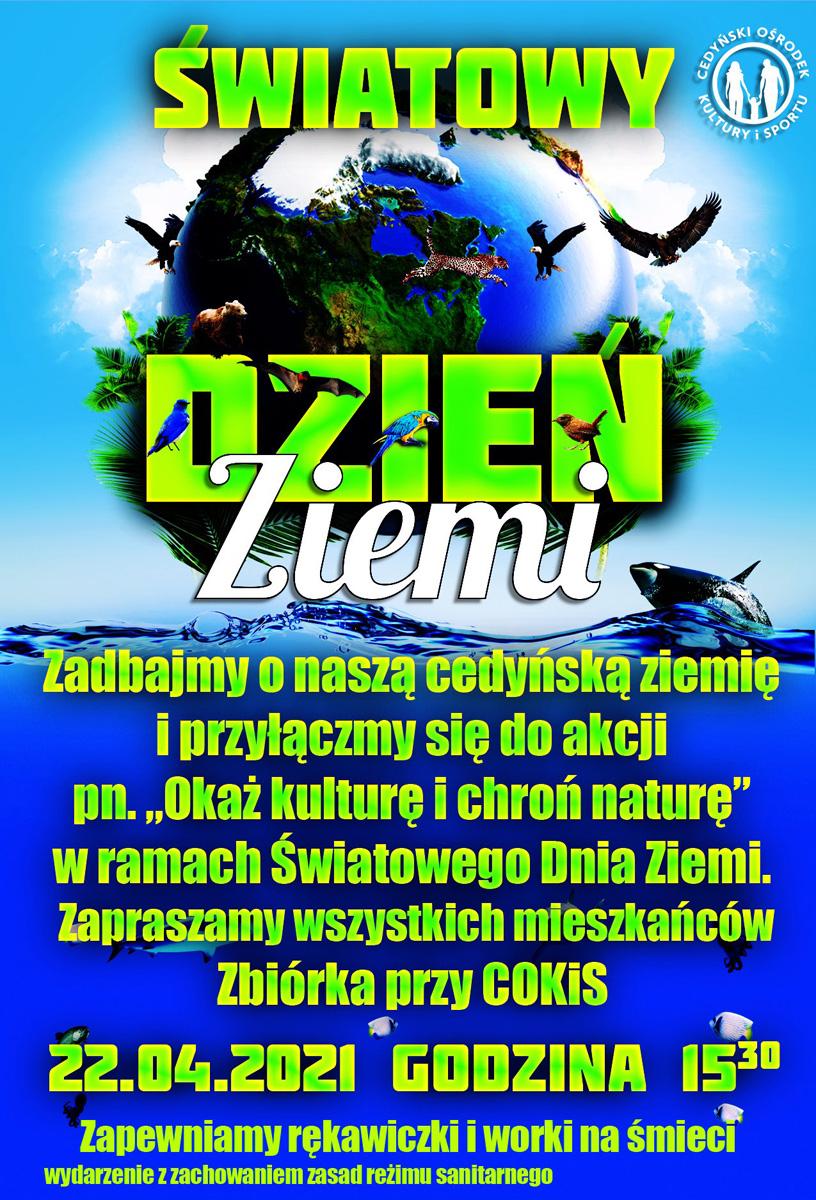 Światowy Dzień Ziemi - plakat