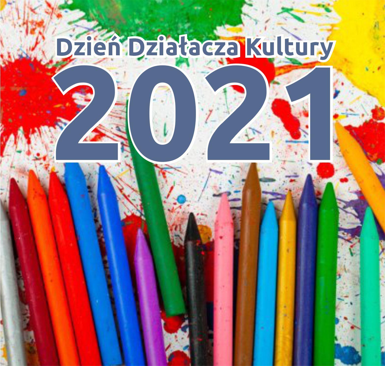 plakat dzień działacza kultury