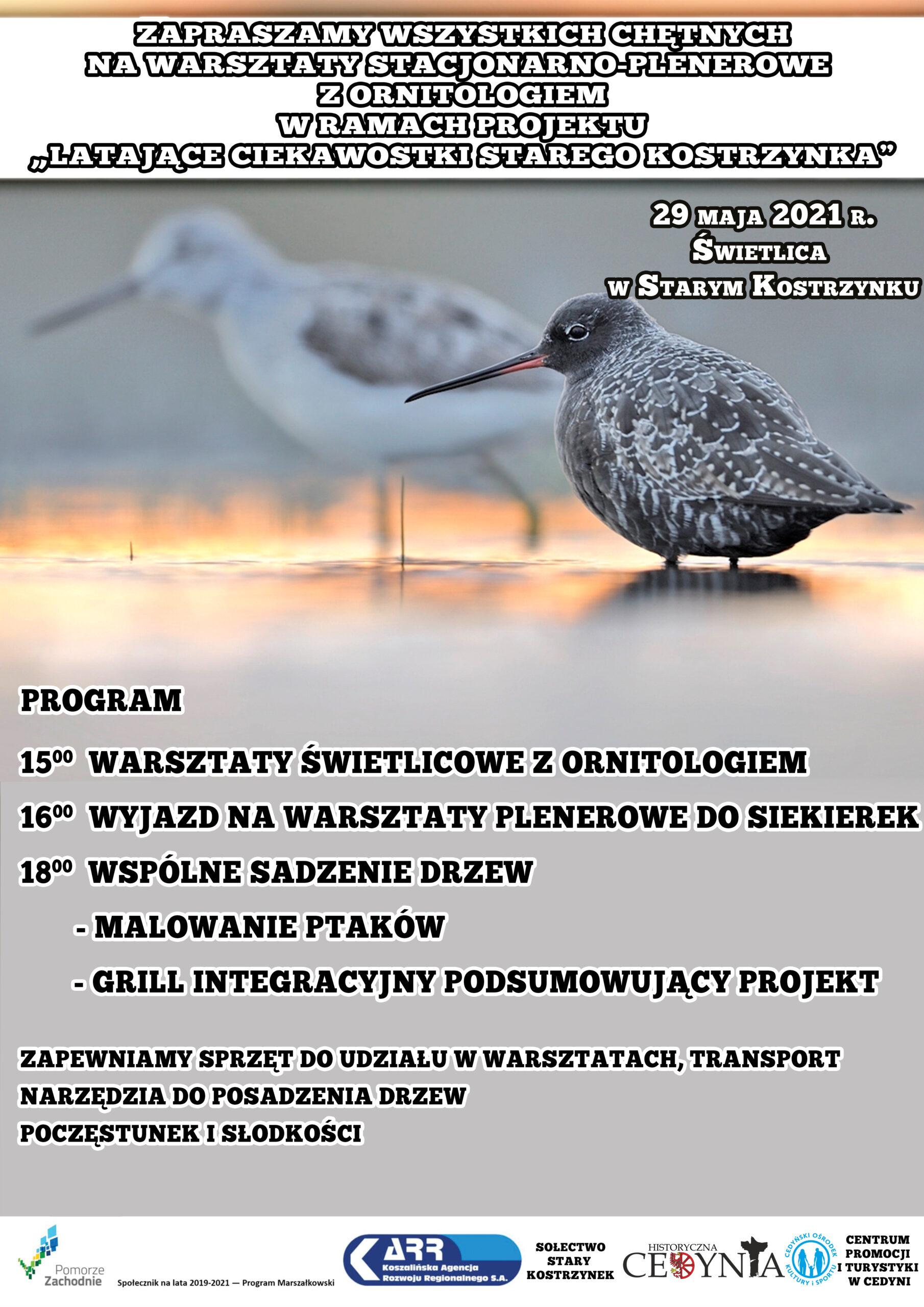 plakat promujący projekt Społecznik