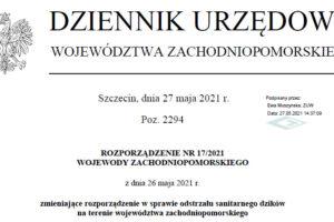 rozporzadzenie nr 17 2021