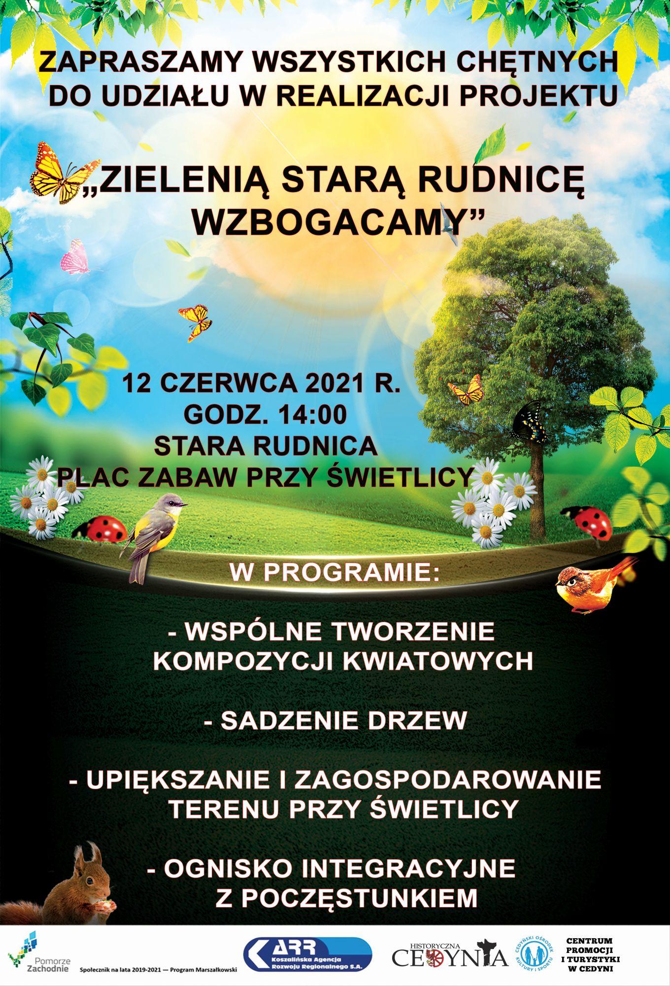 plakat z programu Społecznik