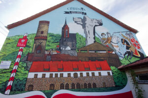 Cedynski mural