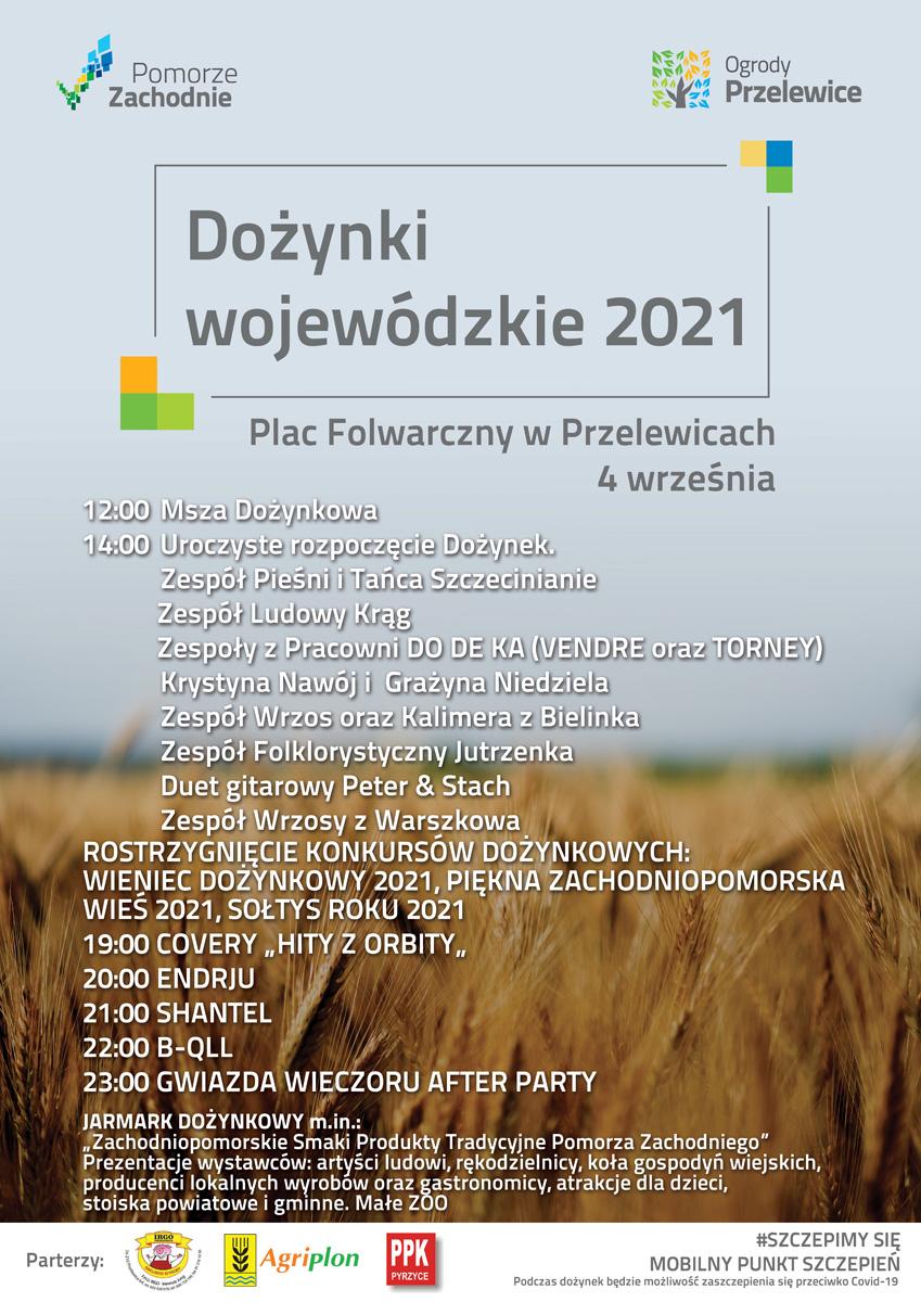 Dożynki wojewódzkie 2021